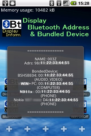 Disp Bluetooth