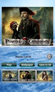 加勒比海盗 Pirates of the Caribbean 4 Puzzle