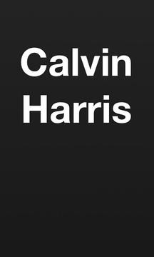 Calvin Harris.
