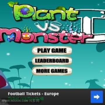 Plants vs Monster
