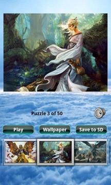 幻想女孩拼图 Fantasy Girls Puzzle