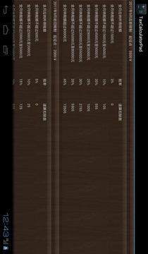 个税计算器Pad