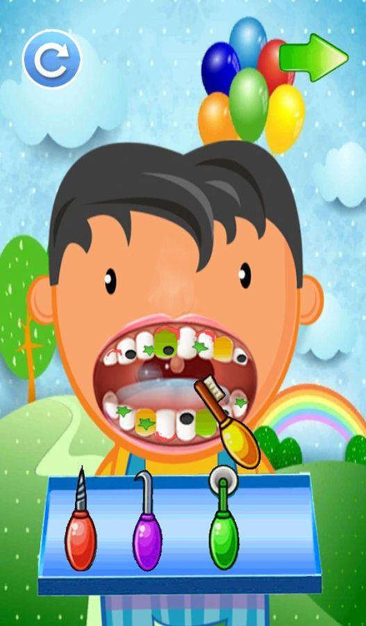 小牙医:疯狂名人办公室 little dentist boy