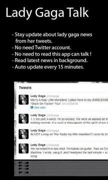 Lady Gaga Talk
