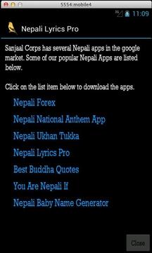 Nepali Lyrics Free