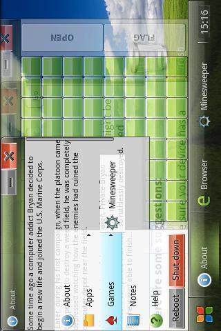 模拟Windows系统 Wind OS