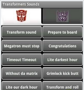 变形金刚铃声 transformers