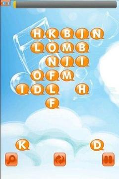 气泡字母连连看