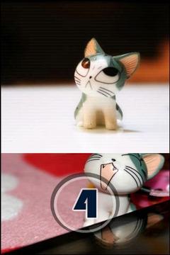 可爱起司猫拼图