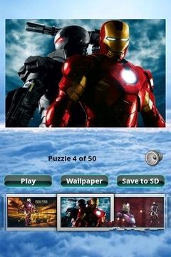 铁人拼图 Iron Man Puzzle