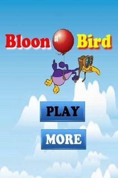 打落带气球的鸟