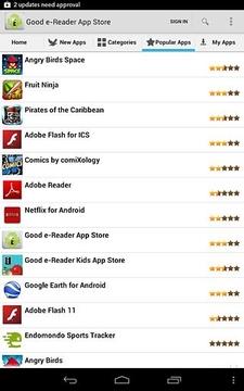 好的电子阅读器应用程序商店 Good e-Reader App Store