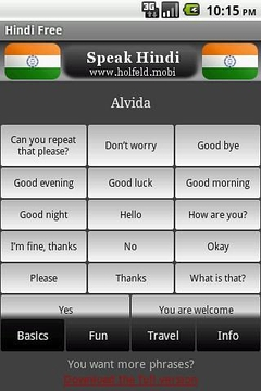 说印地语 Speak Hindi Free