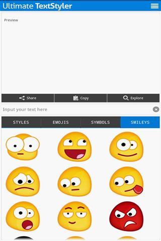 emoji &笑脸符号
