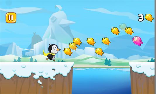 奔跑吧企鹅君截图(1)