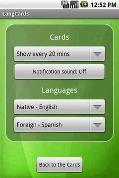外语学习卡