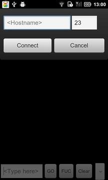 简单的电话连接器
