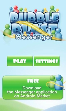 Bubble Blast Messenger