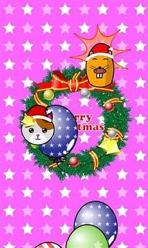 我的孩子 圣诞节 游戏 (吹气球!)