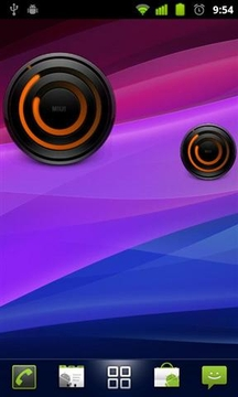 MIUI Spiral Analog Clock