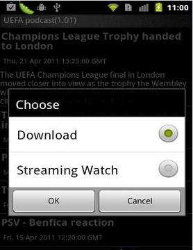 UEFA podcast