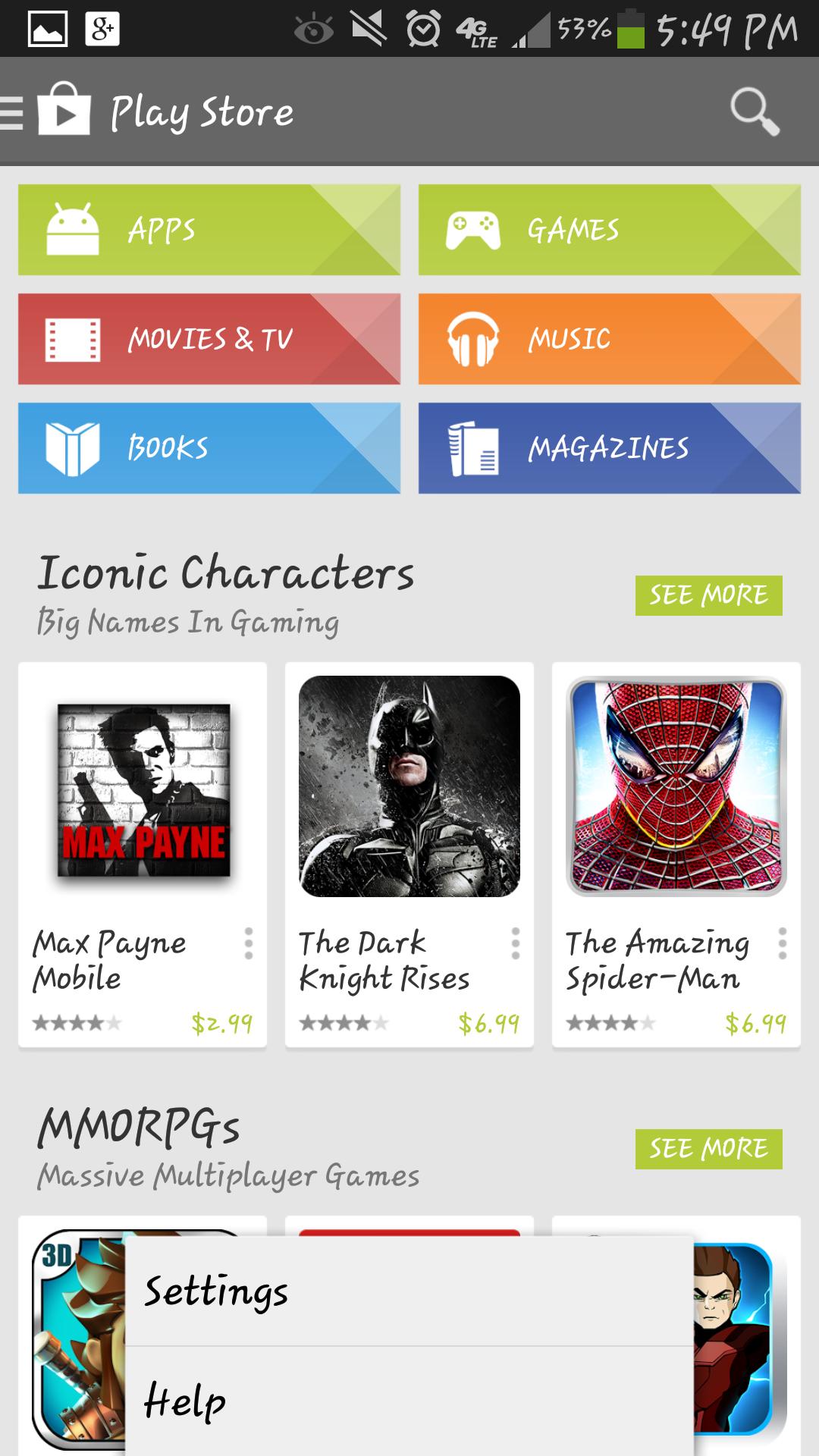 Google Play 服务截图(5)