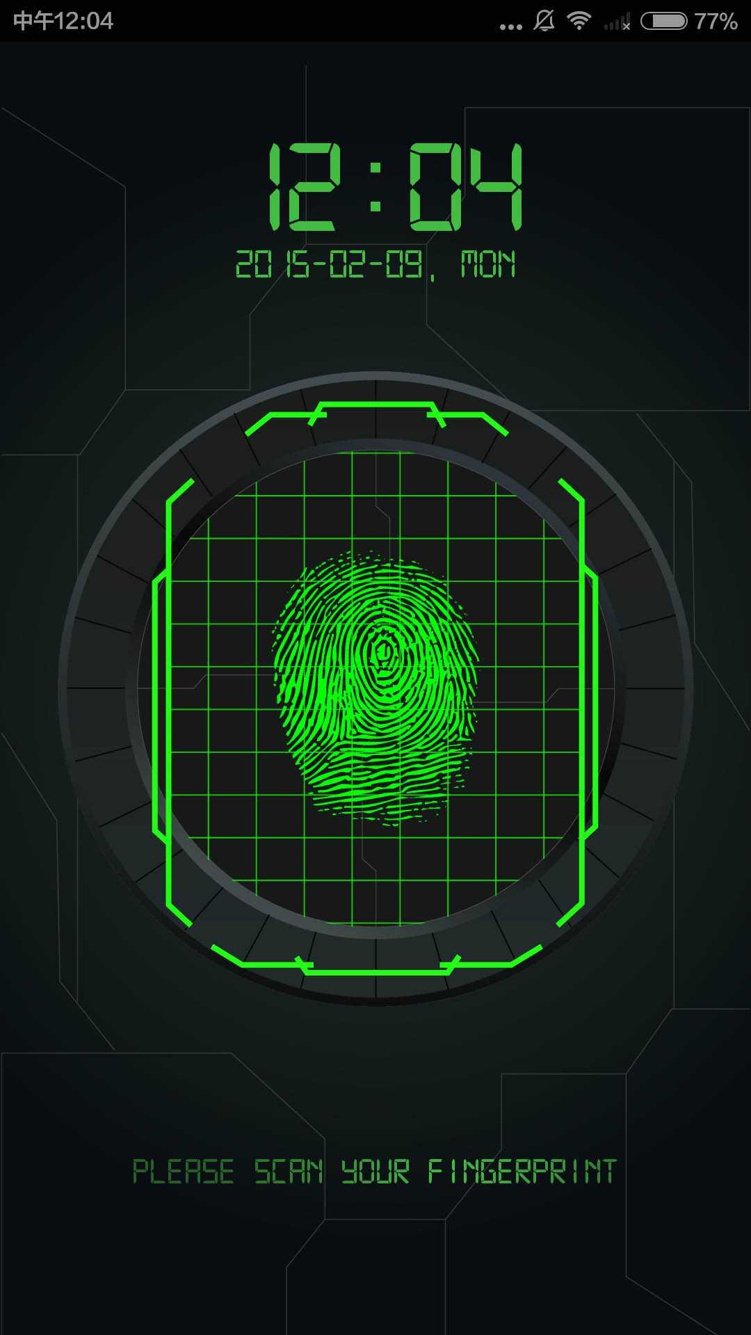 指纹解锁截图(1)