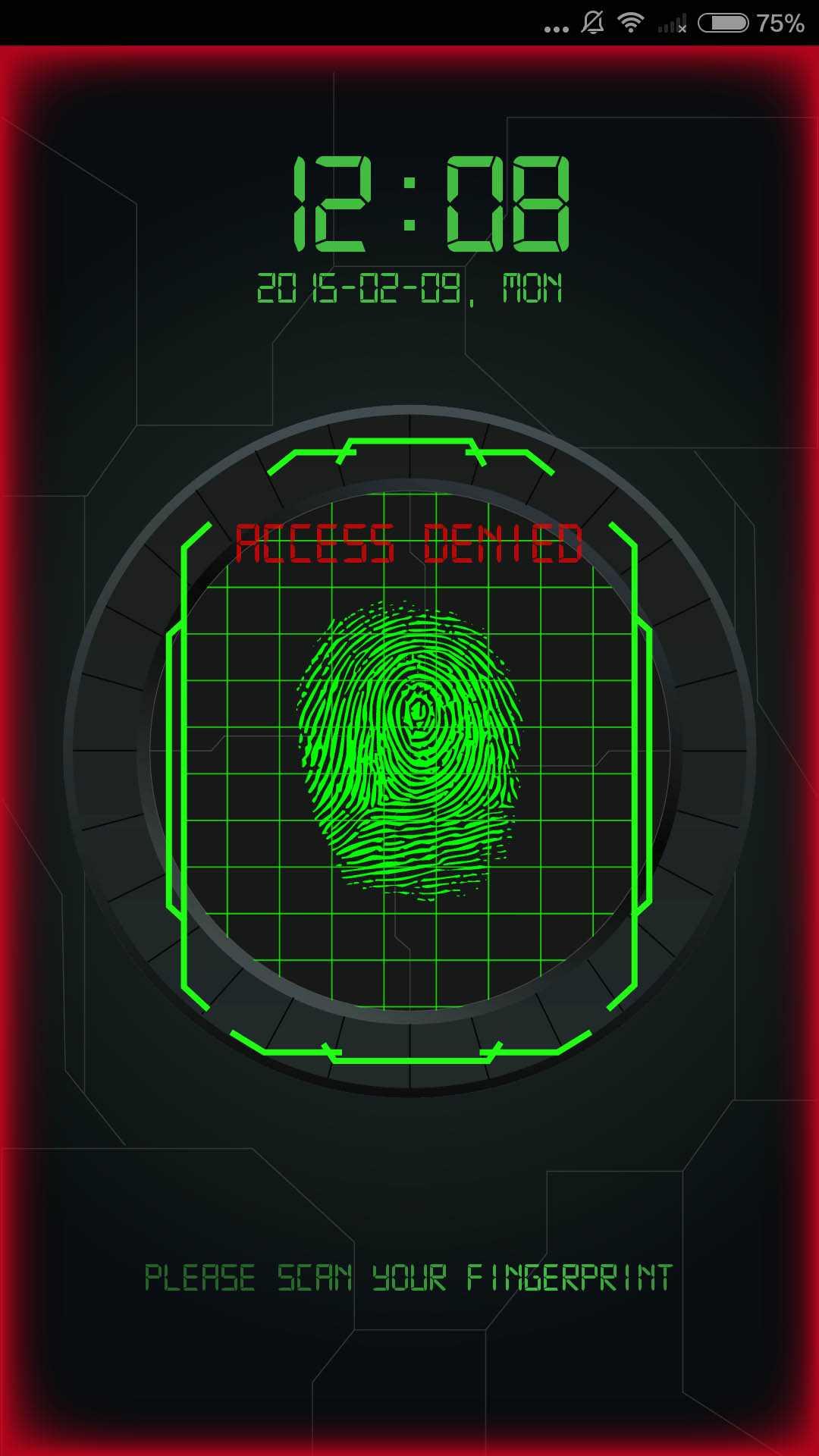 指纹解锁截图(2)