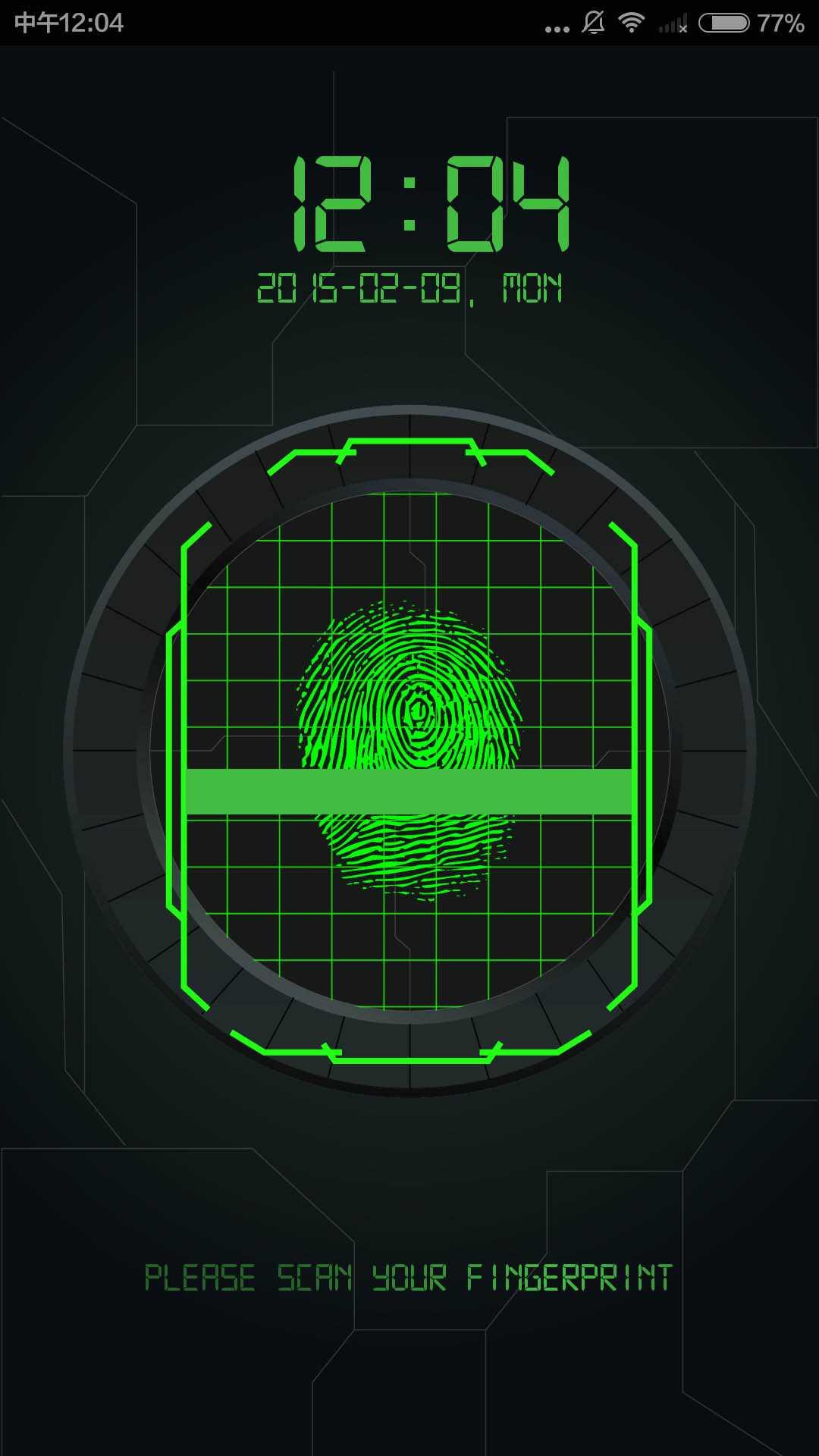 指纹解锁截图(4)