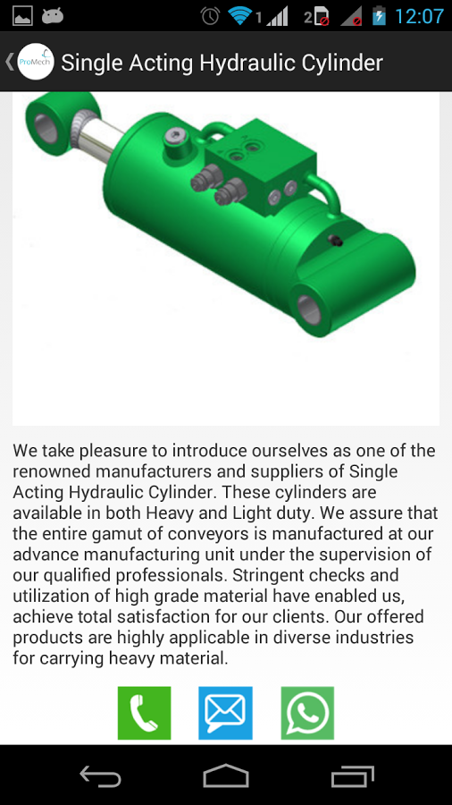 Hydraulic Cylinder & PowerPack截图(5)