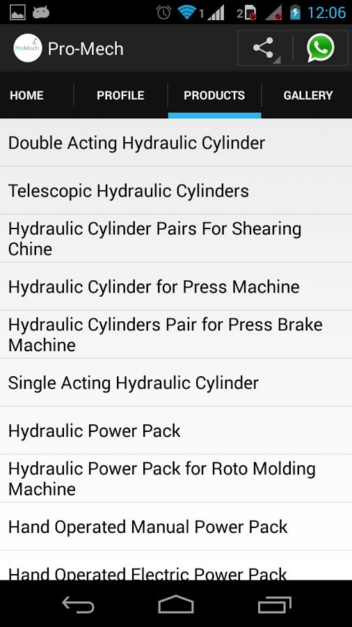 Hydraulic Cylinder & PowerPack截图(4)
