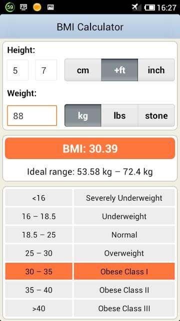 BMI体重指数计算器下载 BMI体重指数计算器手