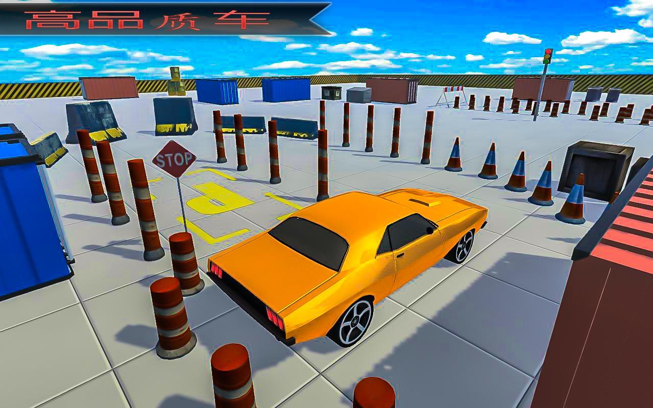 真实 汽车 停車處 3D 难截图(2)