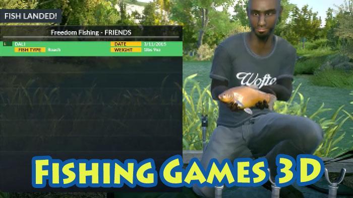 免费的钓鱼游戏截图(2)