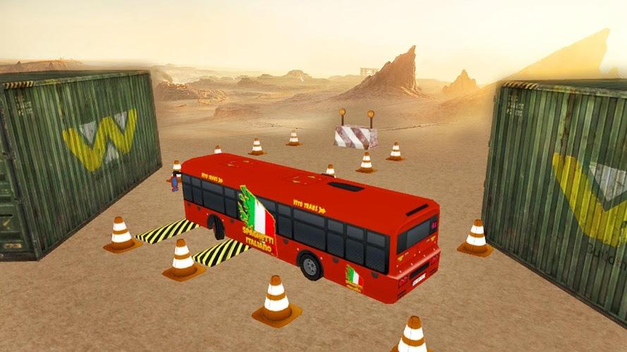 实车巴士停车Sim 3D截图(1)