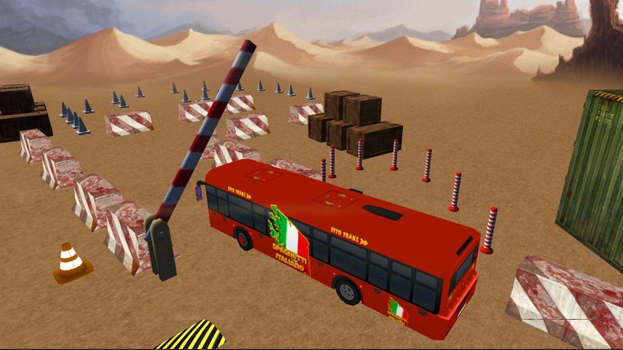 实车巴士停车Sim 3D截图(2)
