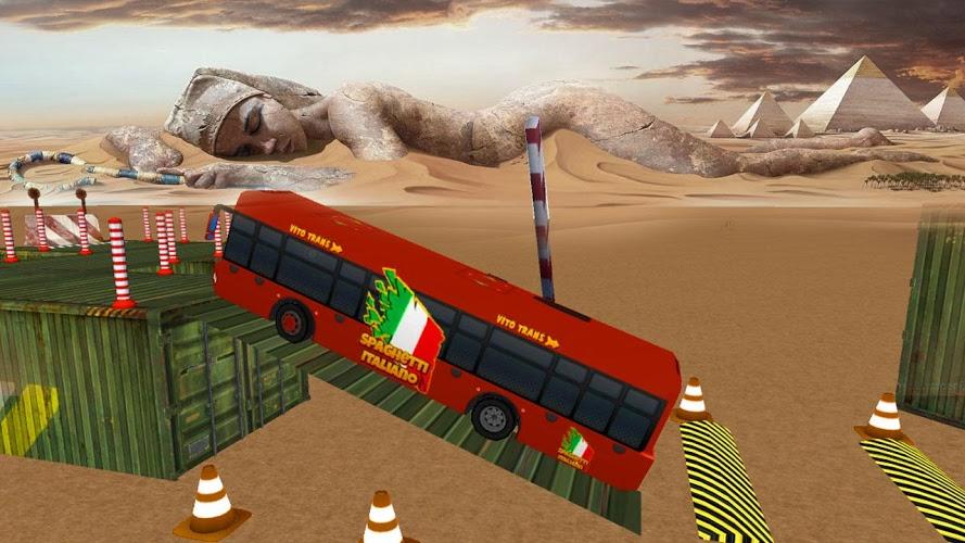 实车巴士停车Sim 3D截图(3)