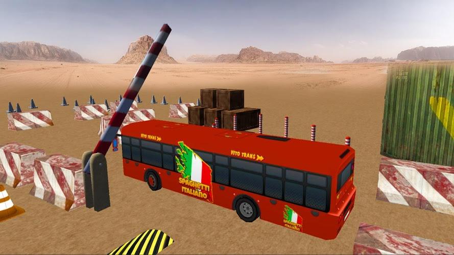 实车巴士停车Sim 3D截图(4)