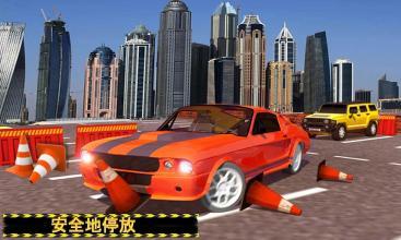 真实 市 汽车 停车处 乐趣。截图(4)