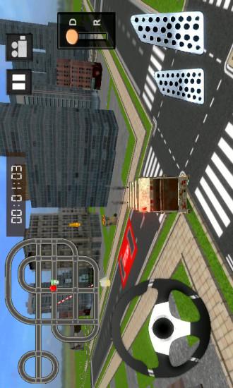 3D垃圾车驾驶截图(1)