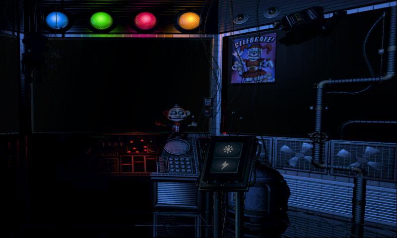 玩具熊的五夜后宫:姐妹地点截图(4)