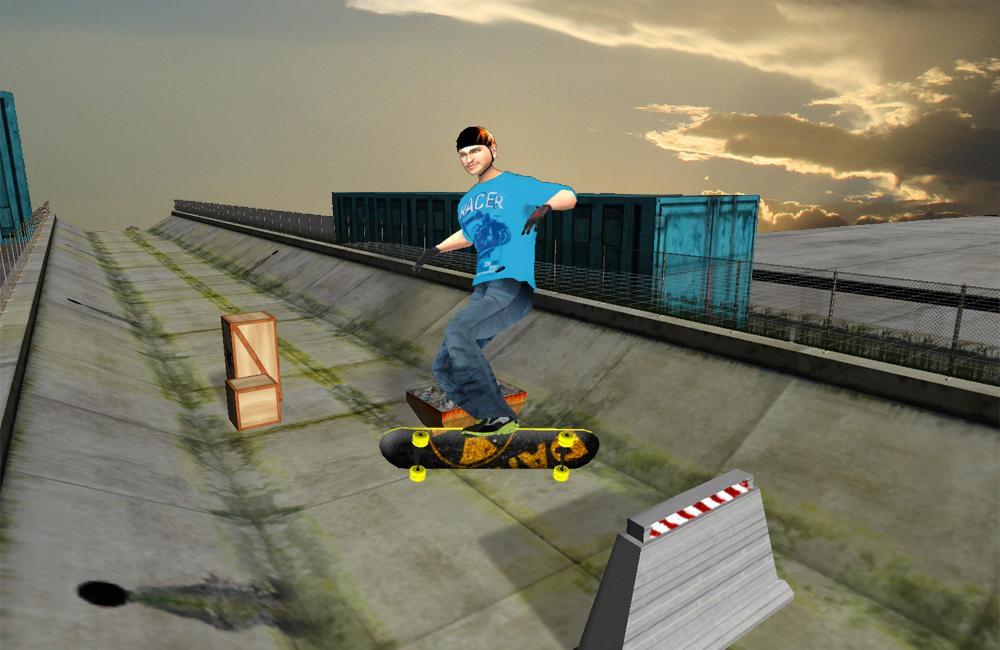 极限滑板3D游戏截图(5)