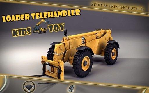 裝載機伸縮式裝卸機兒童玩具截图(2)