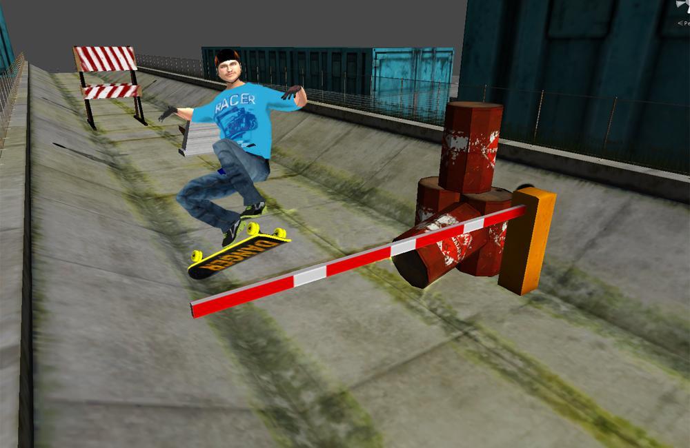 极限滑板3D游戏截图(1)