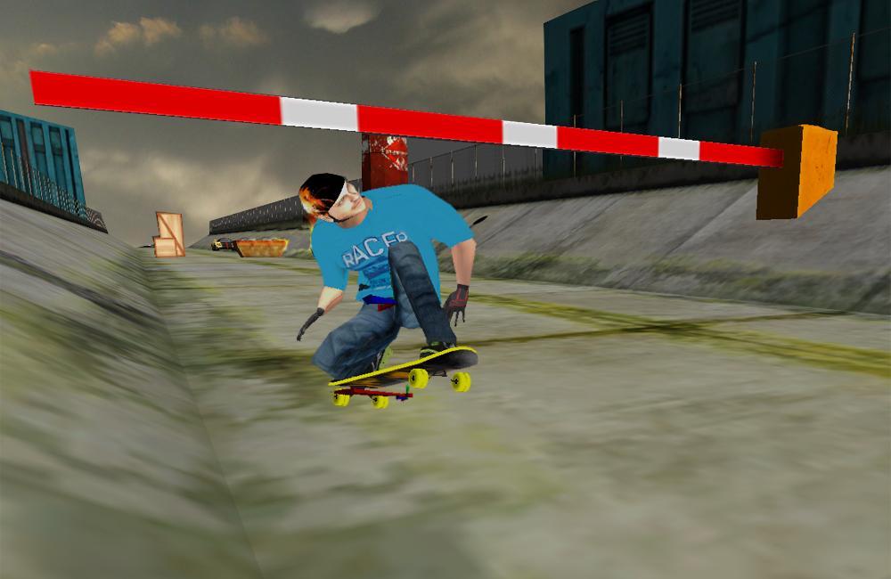 极限滑板3D游戏截图(2)