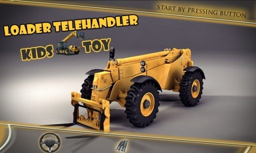 裝載機伸縮式裝卸機兒童玩具截图(3)