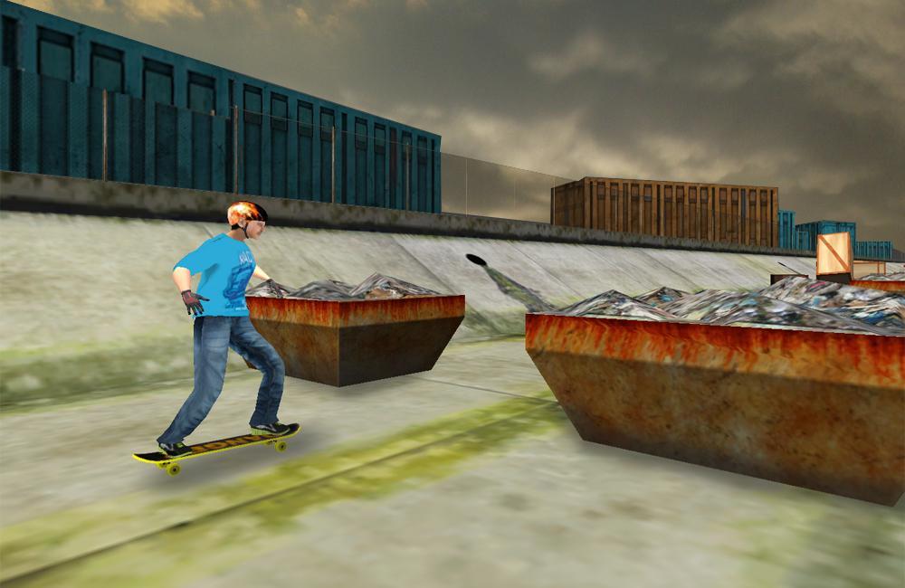 极限滑板3D游戏截图(4)