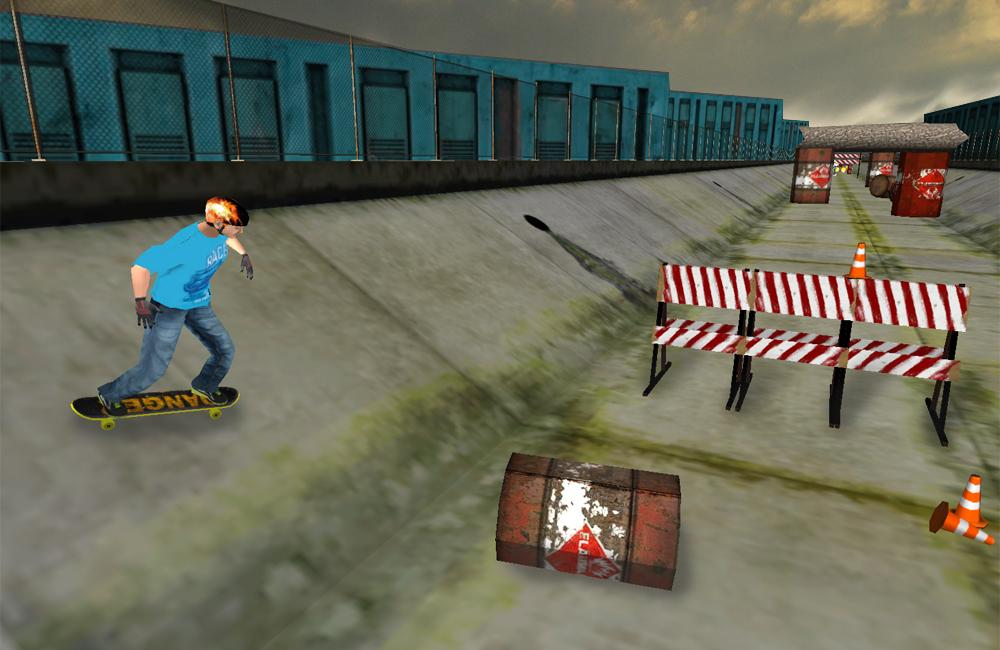 极限滑板3D游戏截图(3)