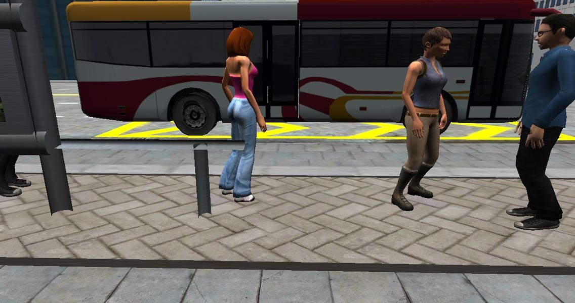 城市公交车驾驶3D模拟器截图(3)