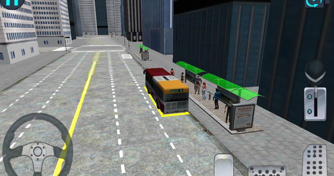 城市公交车驾驶3D模拟器截图(2)
